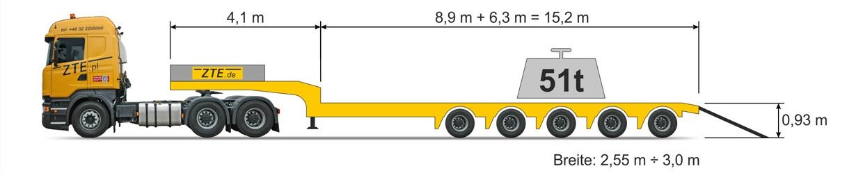 5-axle Semi type semi-trailer