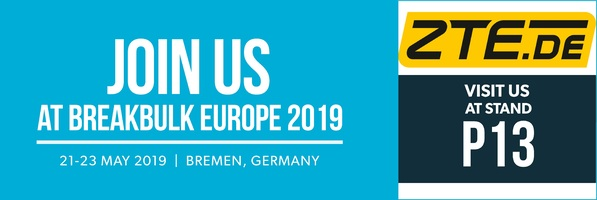 ZTE on BreakBulk 2019 in Bremen