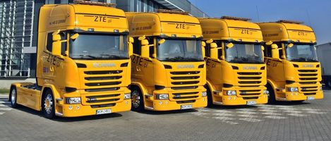 New fleet of vehicles in ZTE